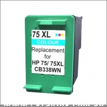 75XL CB338WN Remanufactured Inkjet Cartridge