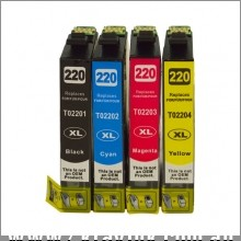 220XL Series Premium Compatible Inkjet Cartridge Set [Boxed Set]